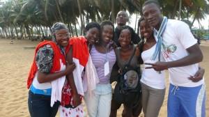 A la plage de Lomé