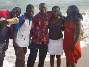 RJIA Bénin / Tour à l plage